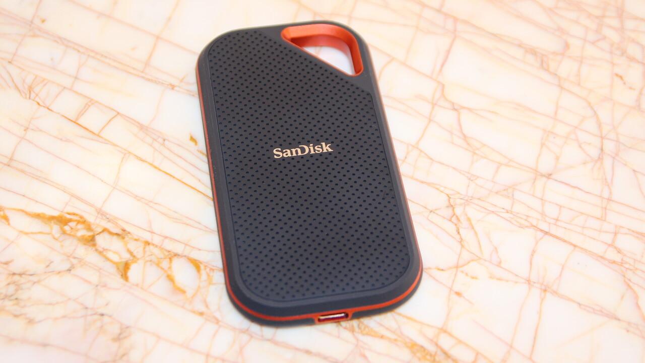 WD SanDisk: Widerstandsfähige portable SSD mit bis zu 1.000MB/s