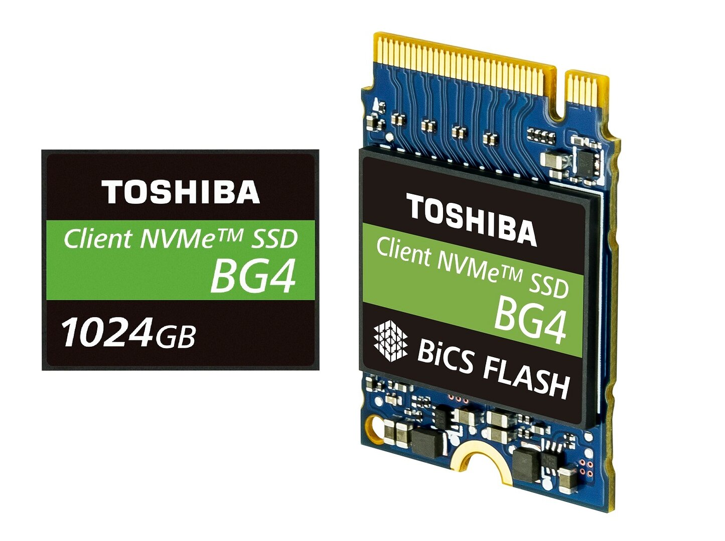 Toshibas Single-Package-SSD BG4