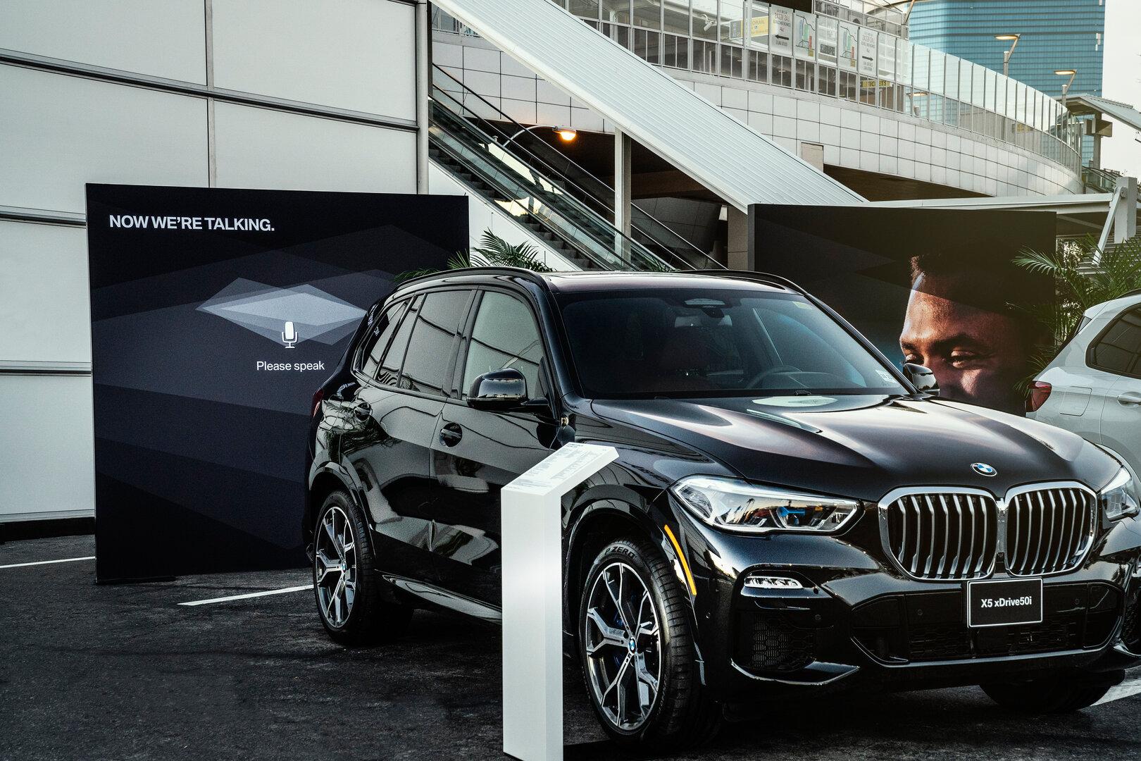 Den BMW Intelligent Personal Assistant gibt es zum Beispiel im neuen X5