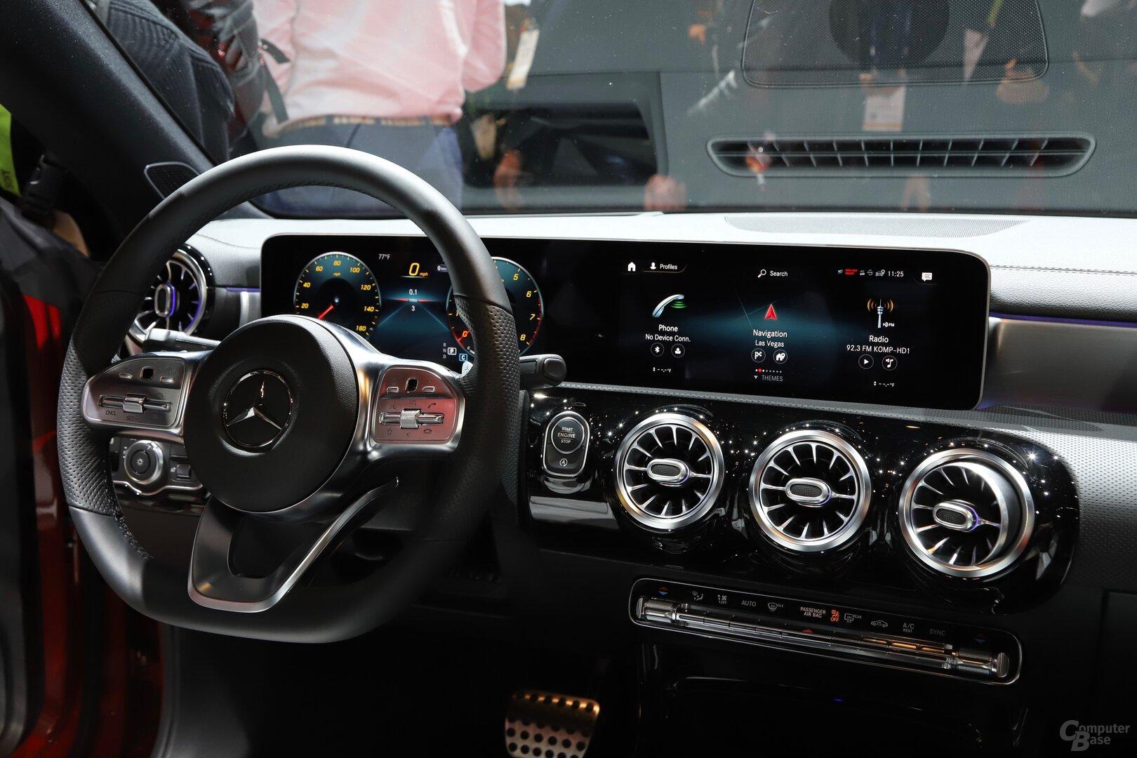 MBUX im neuen Mercedes-Benz CLA