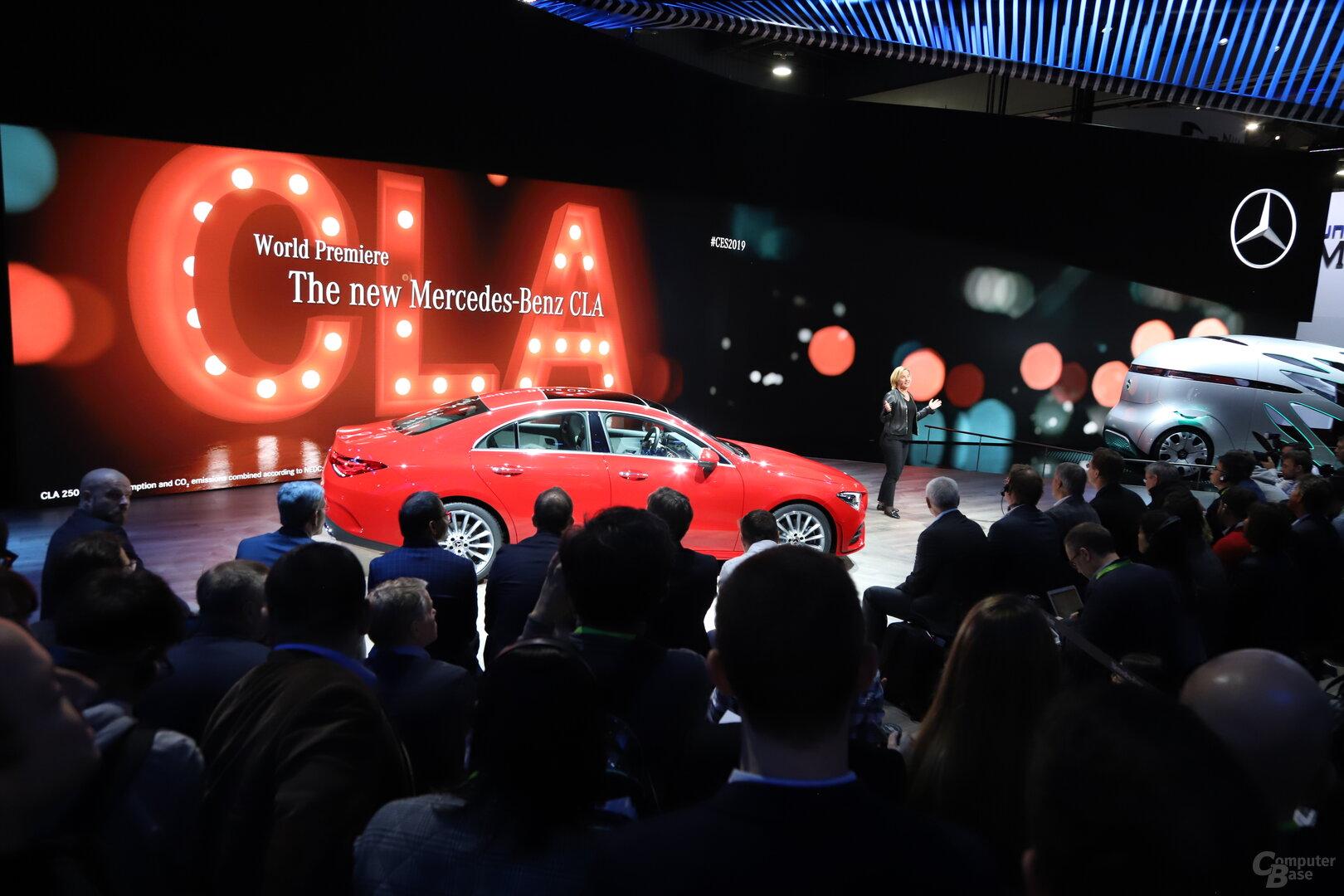 Premiere des Mercedes-Benz CLA in Las Vegas