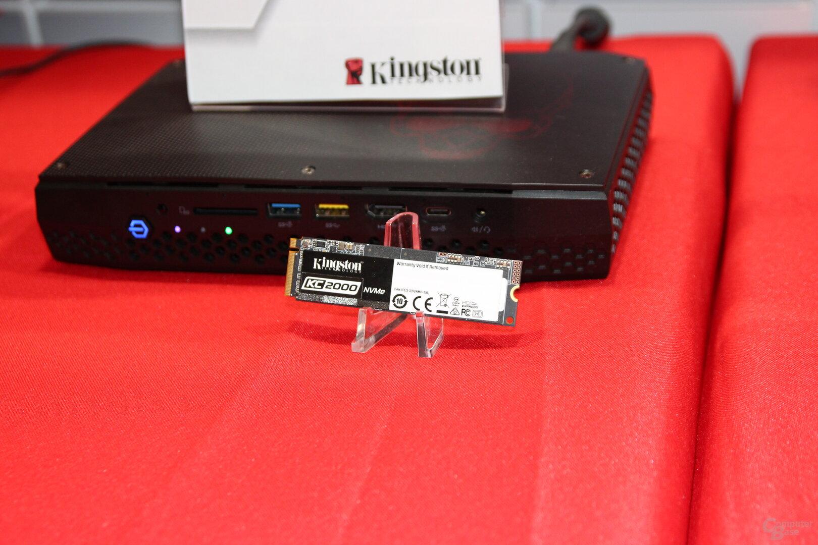 Kingston KC2000 NVMe-SSD
