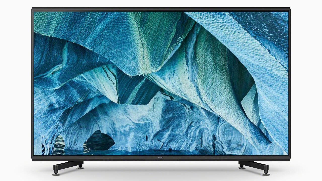 Master Series: Sony steigt in den Markt der 8K-Fernseher ein