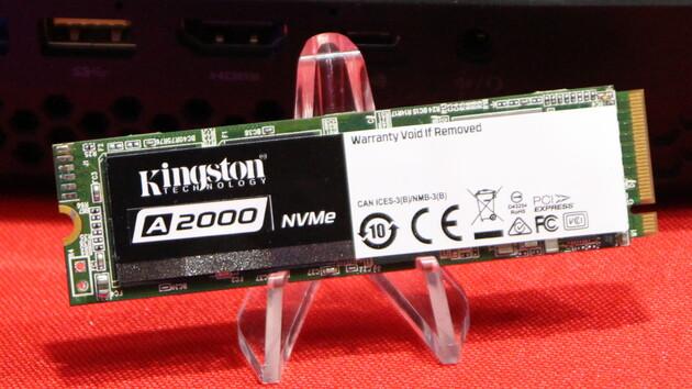 Kingston-SSDs: A2000 und KC2000 mit mehr Leistung und mehr Speicher