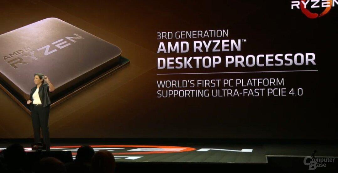 AMD Ryzen 3000 mit PCIe 4.0