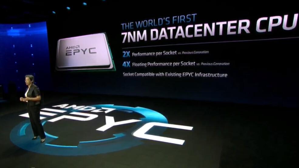 AMD Epyc 2: 64-Kern-Prozessor Rome wird schneller