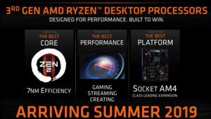 CES-News-Schnipsel: AMD über Raytracing, 16 Kerne und PCIe 4.0