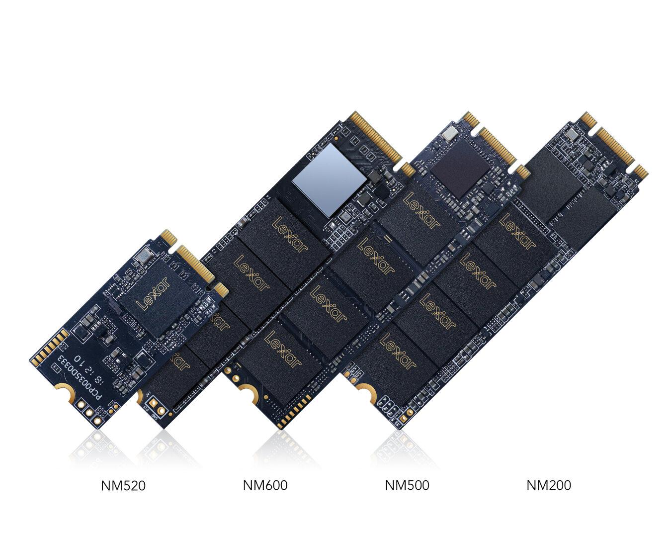 Neue Lexar-SSDs im M.2-Format