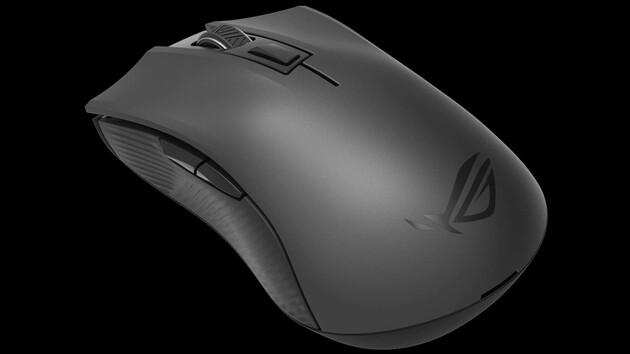 ROG Strix Carry: Asus präsentiert Maus mit 2,4 GHz, Bluetooth und Batterien