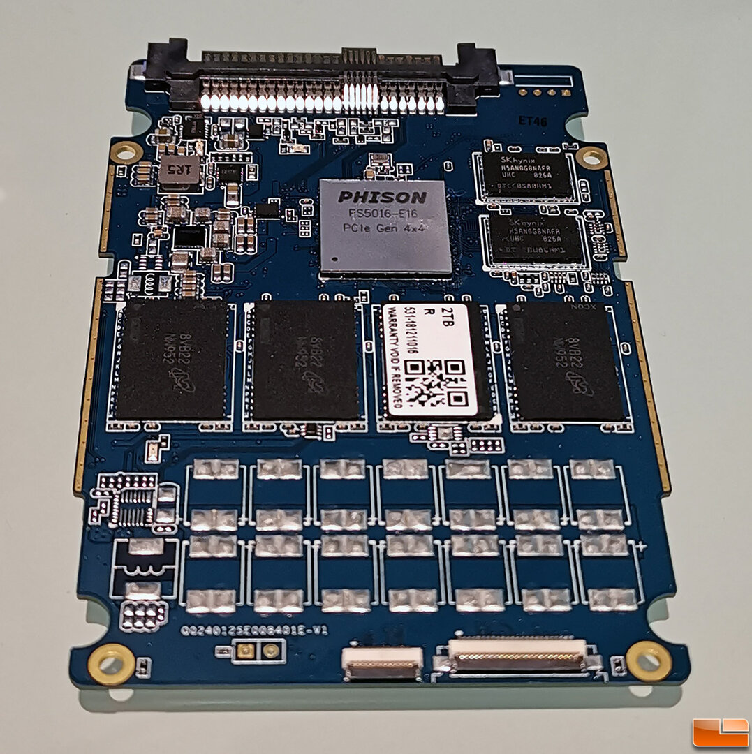 SSD-Prototyp mit PCIe 4.0 (Phison PS5016-E16) und 2 TB 3D-NAND