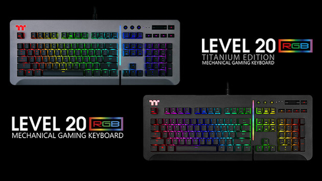 Level 20 Keyboard: Taster von Razer oder Cherry mit Alexa