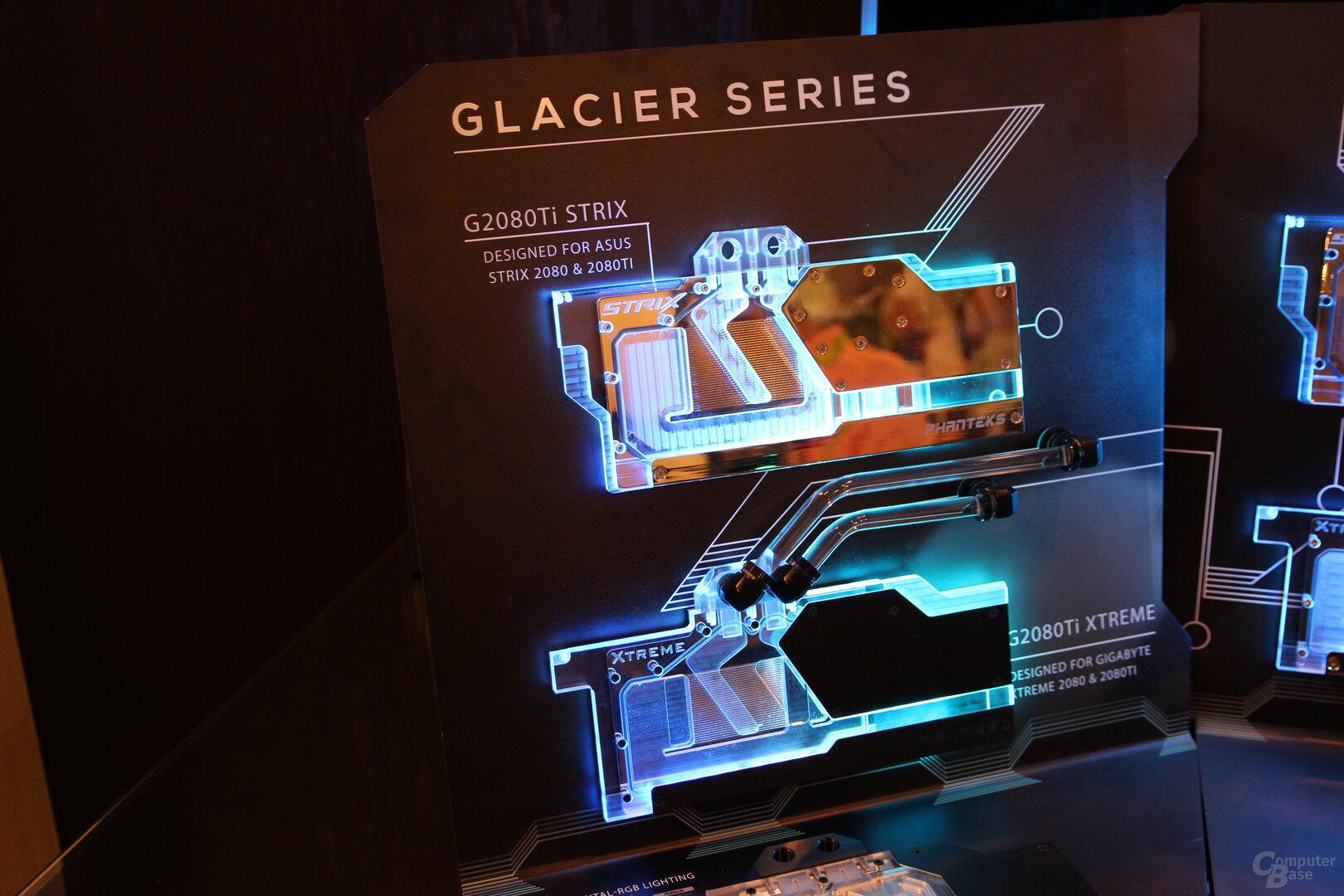 Phanteks Glacier G2080Ti Strix und Glacier G2080Ti Xtreme