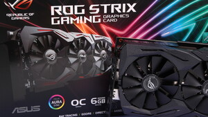 Asus GeForce RTX 2060 Strix im Test: TU106 in schneller, leiser und auf Wunsch auch bunter