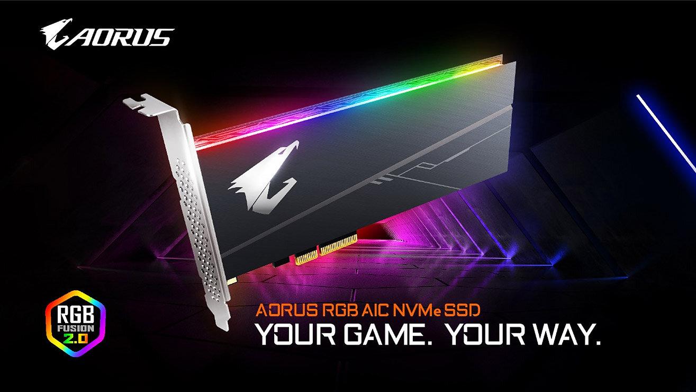 Gigabyte Aorus RGB SSD (AIC-Version)
