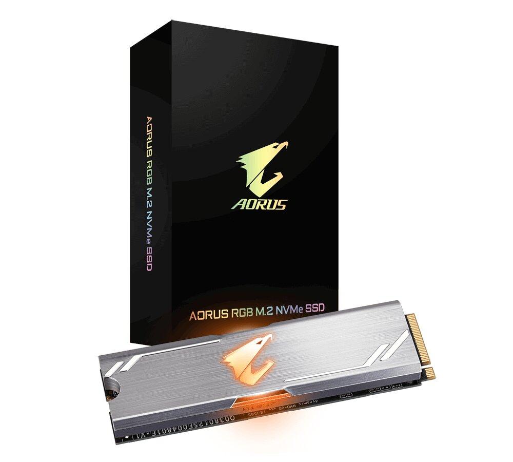 Gigabyte Aorus RGB SSD (M.2-Version)