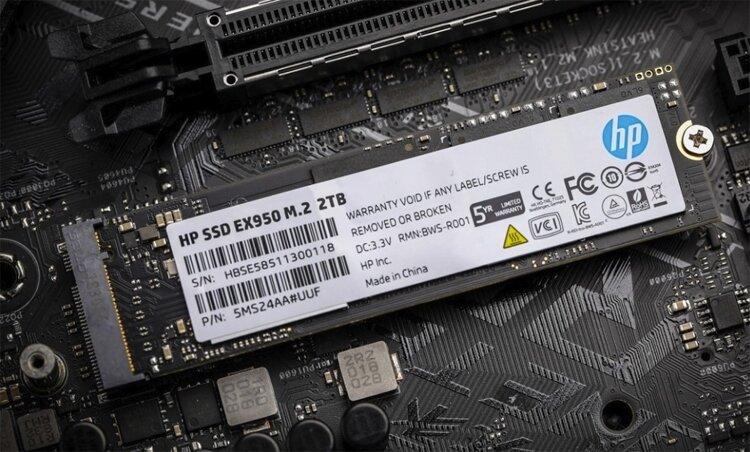 HP EX950 mit 2 TB