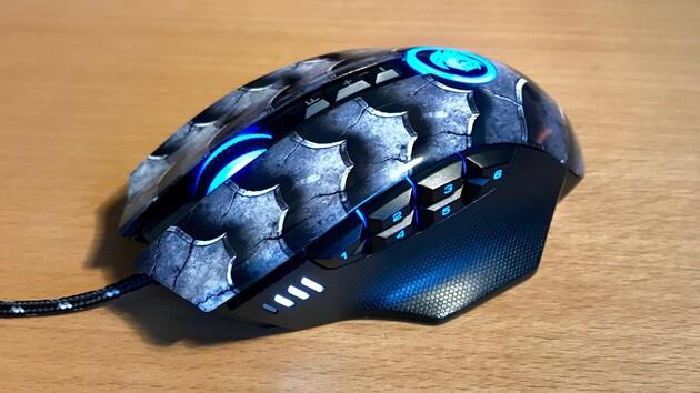 Sharkoon Drakonia II im Test: Geschuppte Maus mit gutem Sensor