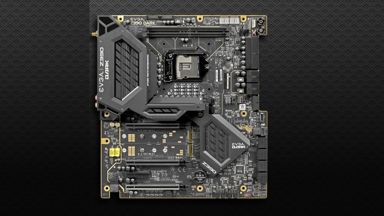 EVGA Z390 Dark: Mainboard mit Sockel LGA 1151 für 500 US-Dollar