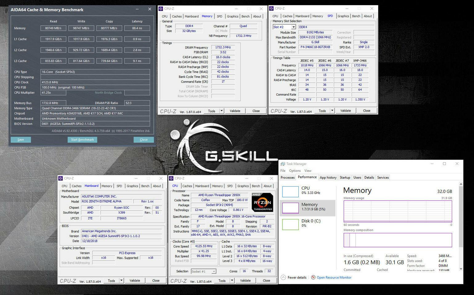 G.Skill Trident Z RGB für AMD Threadripper