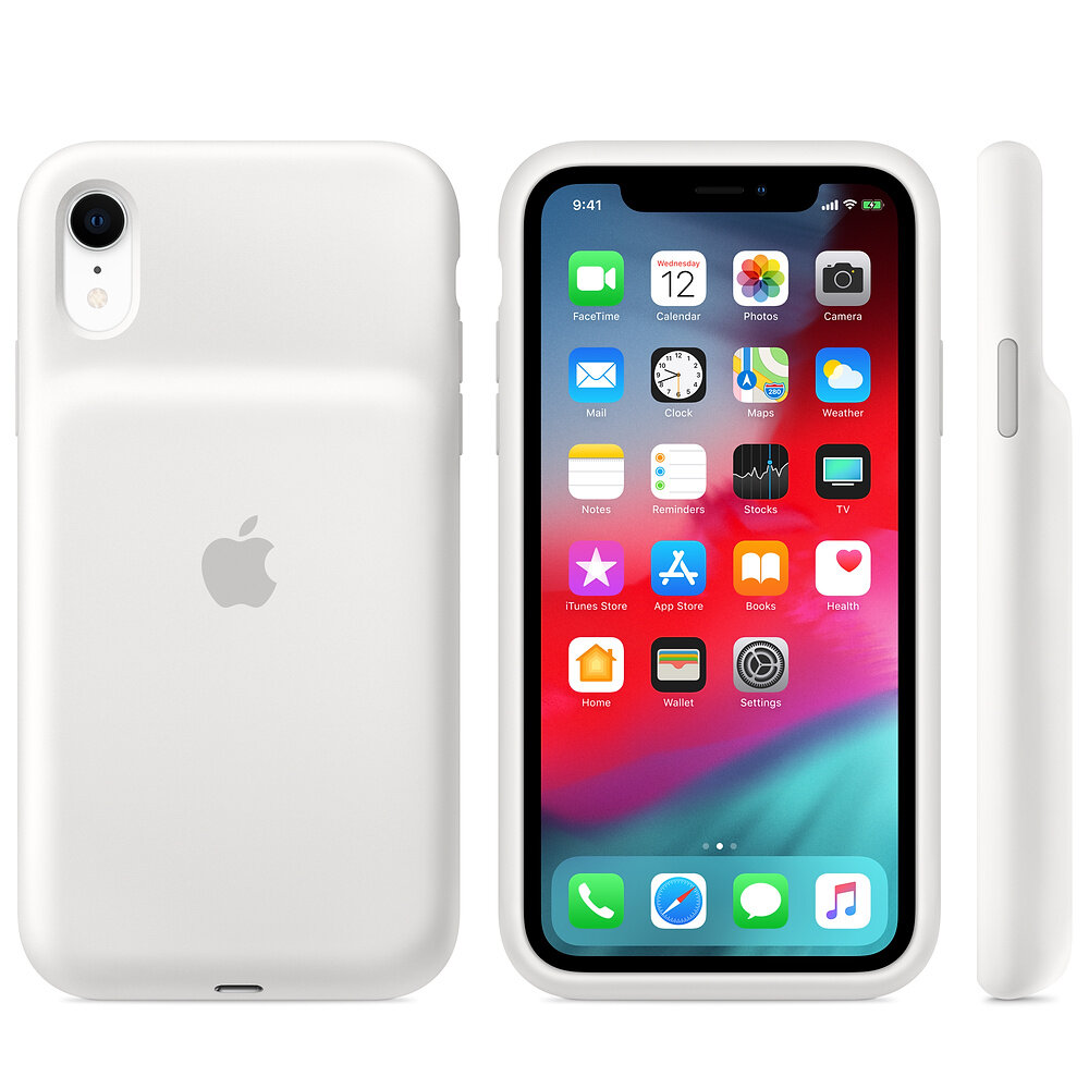 Smart Battery Case (Weiß) für iPhone Xr