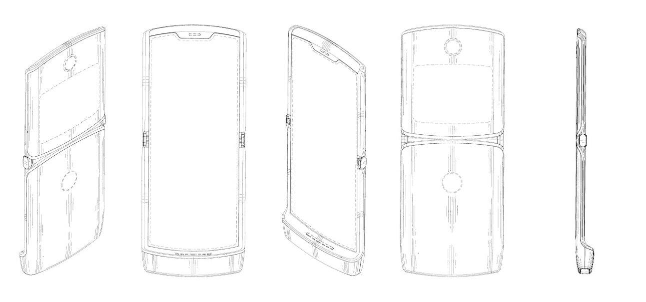 Patent für Klapphandy mit faltbarem Display