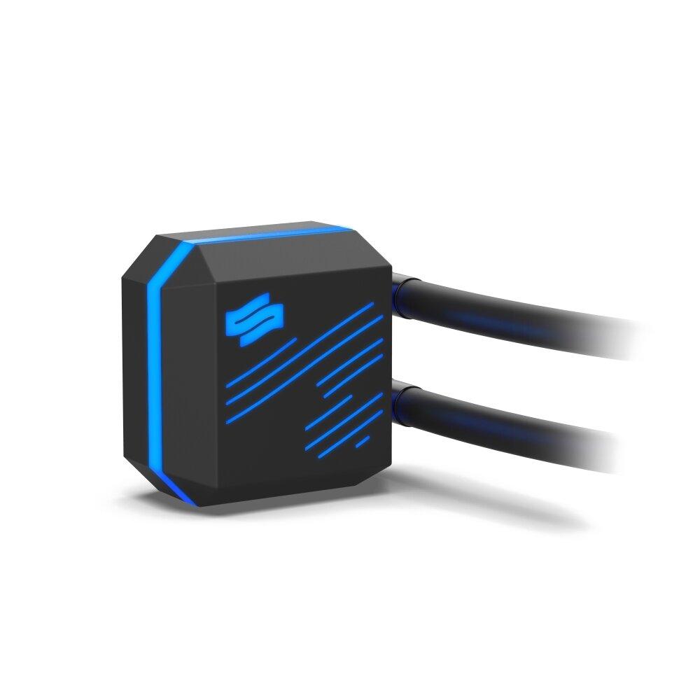 SilentiumPC Navis RGB: Kühler-/Pumpeneinheit