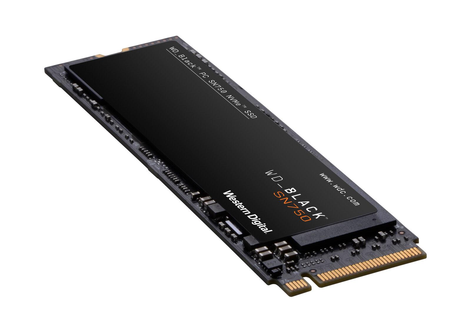 WD Black SN750 NVMe SSD