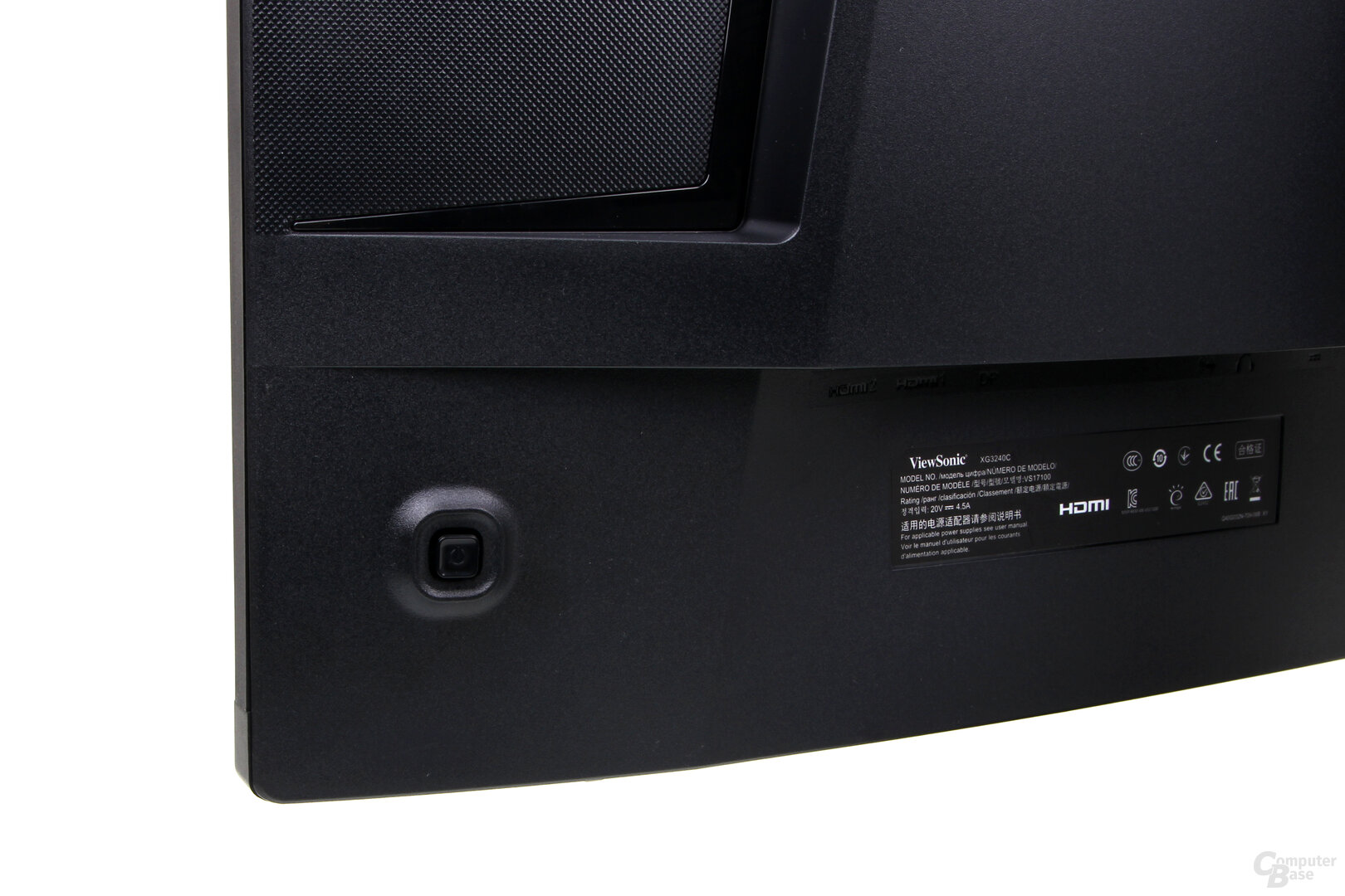 ViewSonic XG3240C – Joystick zur Steuerung des OSD
