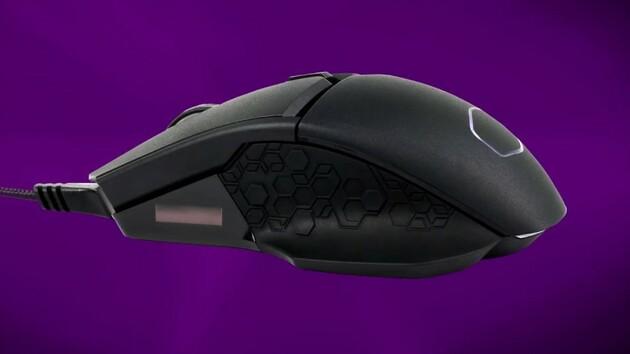 """Cooler Master MM830: Maus mit D-Pad, OLED-Bildschirm und """"24.000 dpi"""""""