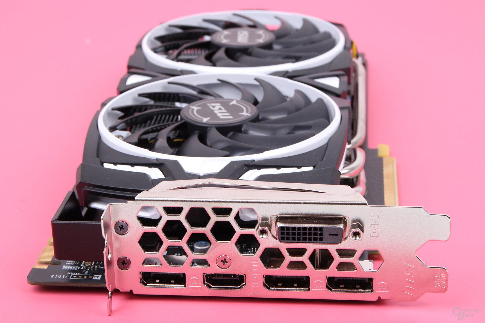 MSI GeForce GTX 1060 Armor GDDR5X