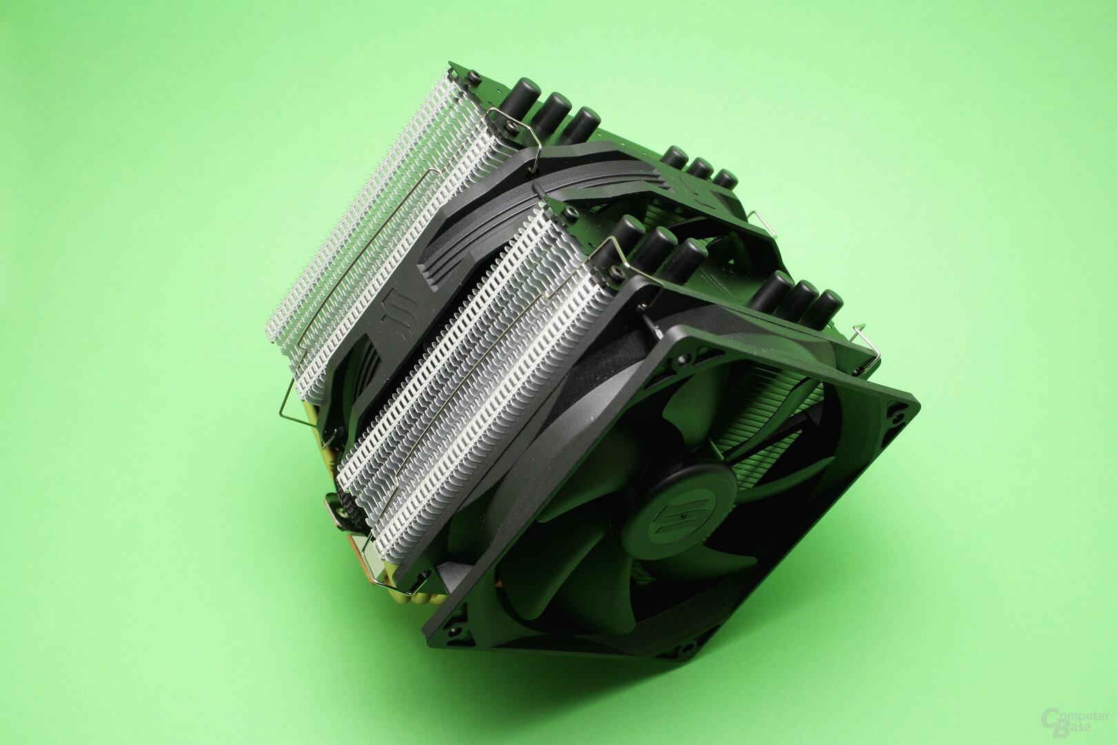 SilentiumPC Grandis 2: Klassischer Doppelturm-Luftkühler
