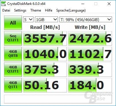 970 Evo: CDM 10GB frei