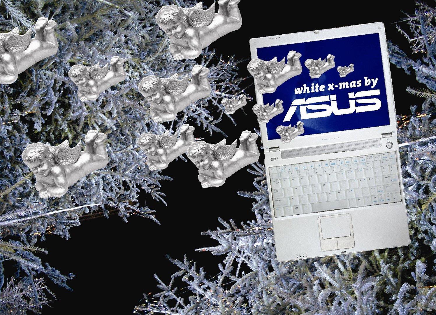ASUS White Xmas Notebook