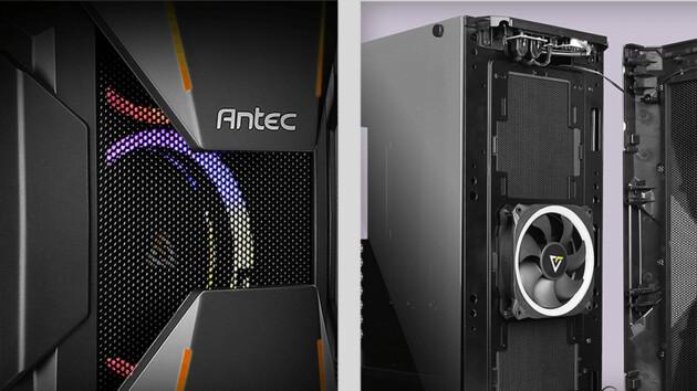 Antec Dark Avenger DA601: Superhelden-Front für Standard-Gehäuse