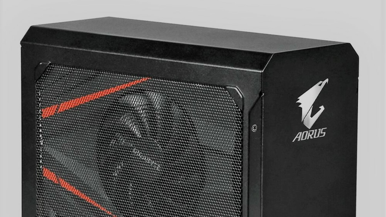 Aorus Gaming Box: Die RTX 2070 wandert bei Gigabyte ins eGPU-Gehäuse
