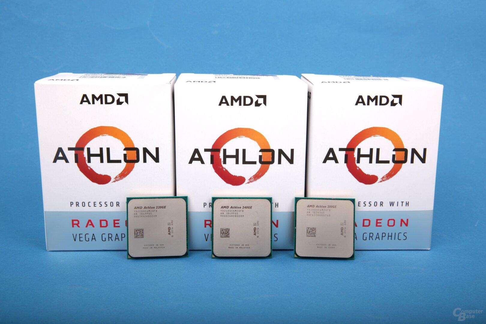 Drei Athlon GE im ComputerBase-Test