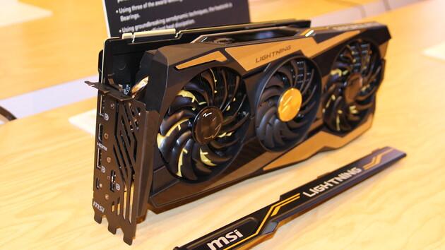 MSI-Flaggschiff: GeForce RTX 2080 Ti Lightning Z startet für 1.550 Euro