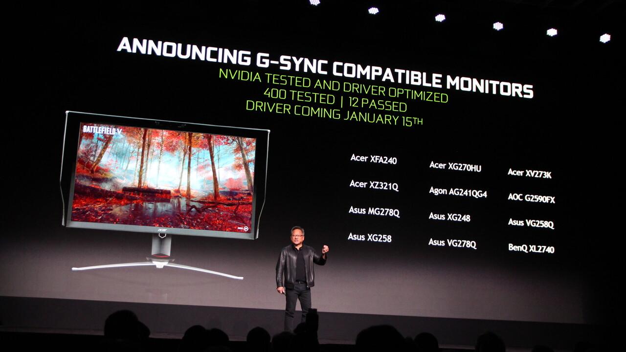 Nvidia G-Sync: Kompatible Displays mit Adaptive Sync im Überblick