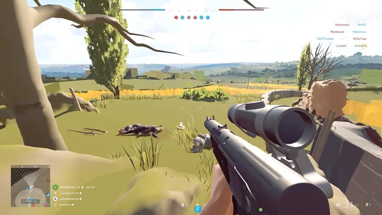 Battlefield V: Account-Sperrung fürs Spielen mit Level-of-Detail-Mod