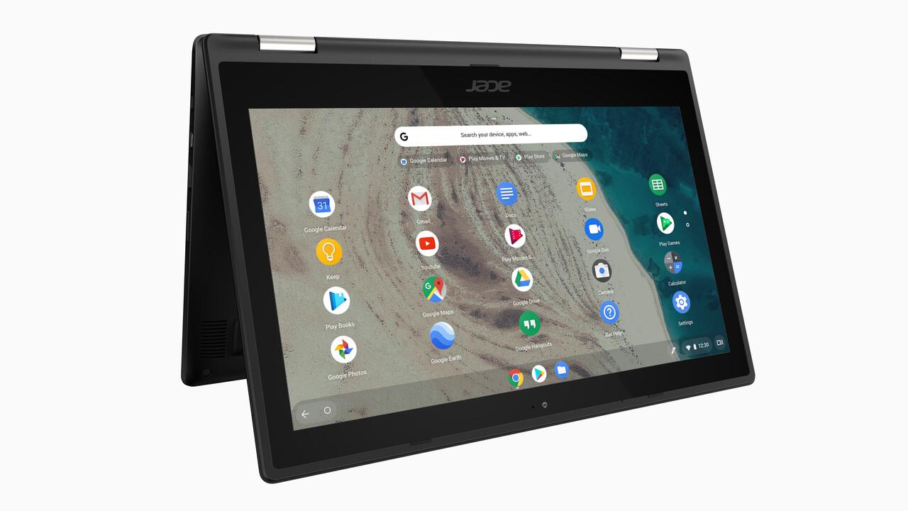 Bildungsbereich: Acer bietet robuste neue Chromebooks ab 400Euro an