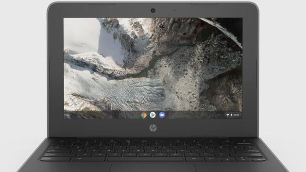 Bildungsbereich: HP-Chromebooks mit Technik von AMD und Intel