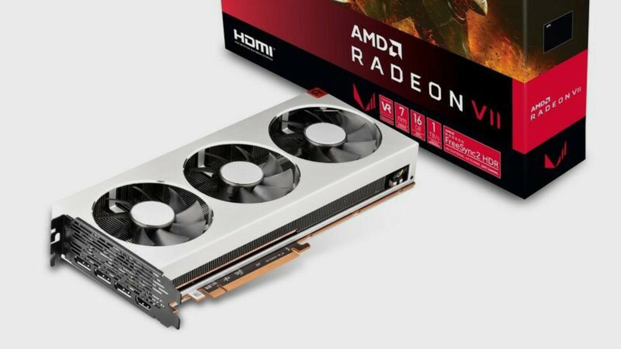 AMD Radeon VII: Sapphire, ASRock und XFX starten mit Referenzdesign