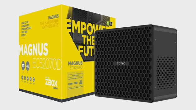 Zotac: Zbox Magnus EC52070D mit Core i5-8400T und RTX 2070