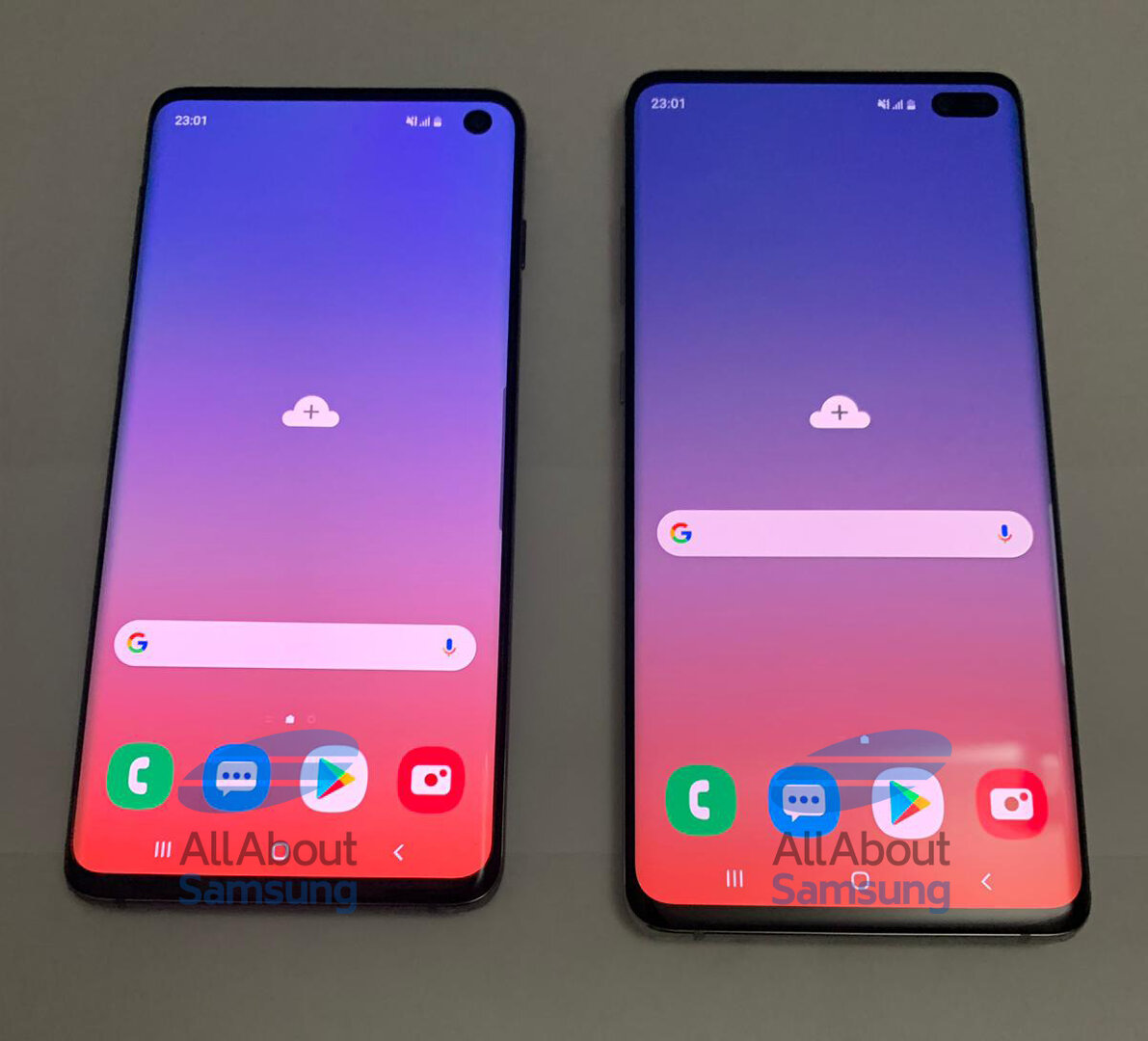 Galaxy S10 und Galaxy S10+
