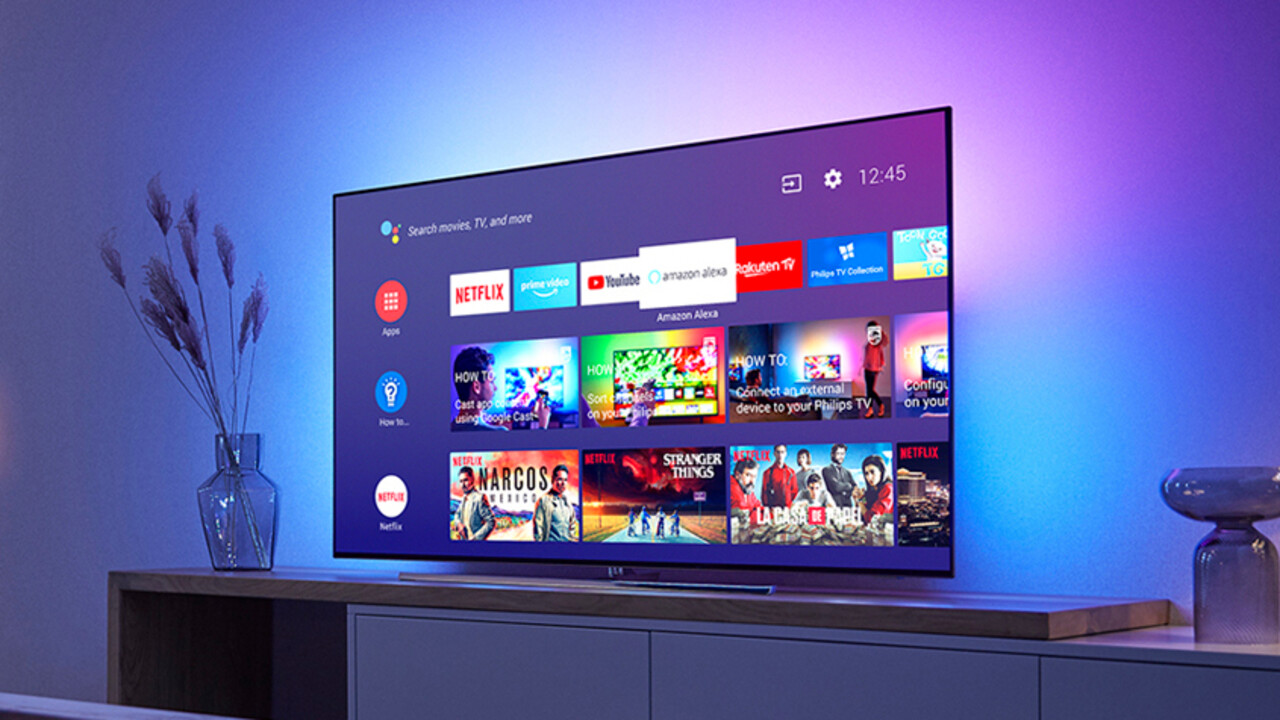 philips neue ambilight fernseher mit oled lcd 4k und. Black Bedroom Furniture Sets. Home Design Ideas