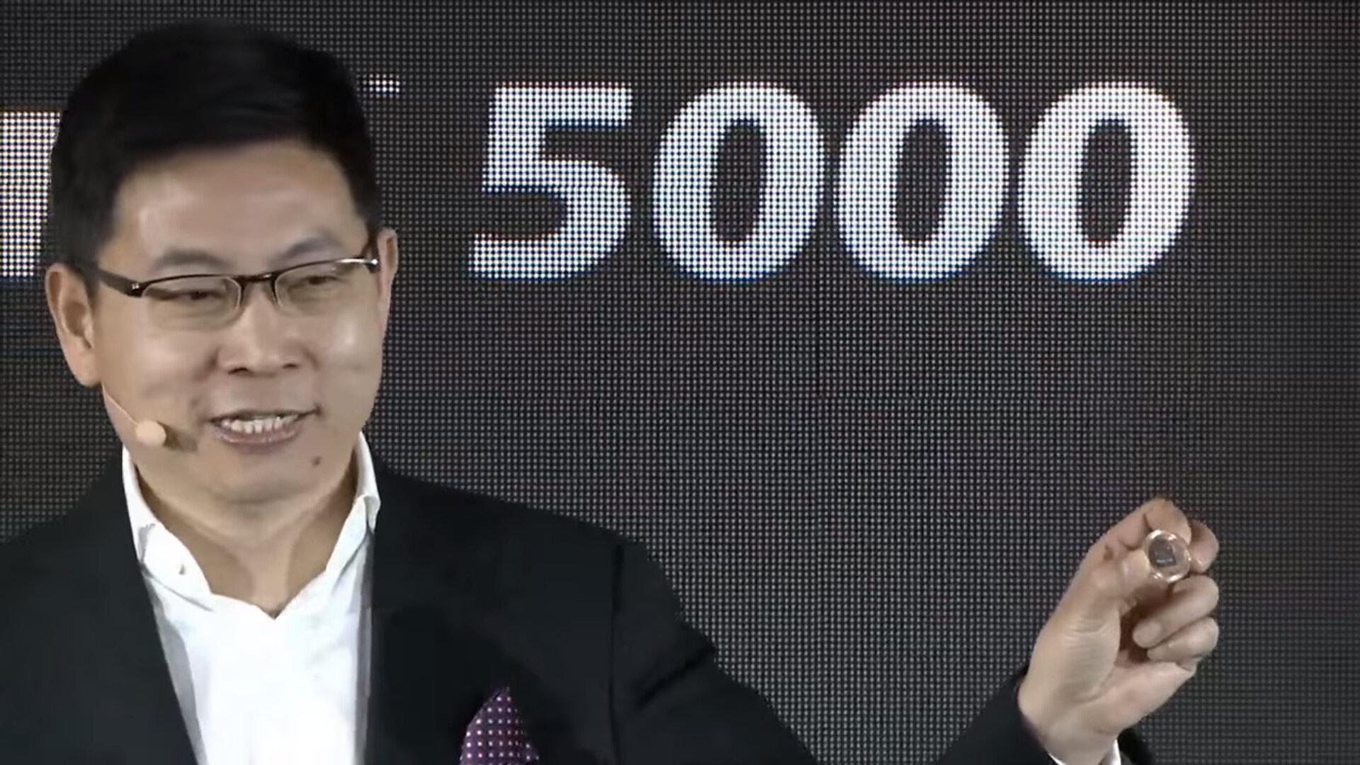 Richard Yu präsentiert das Balong 5000