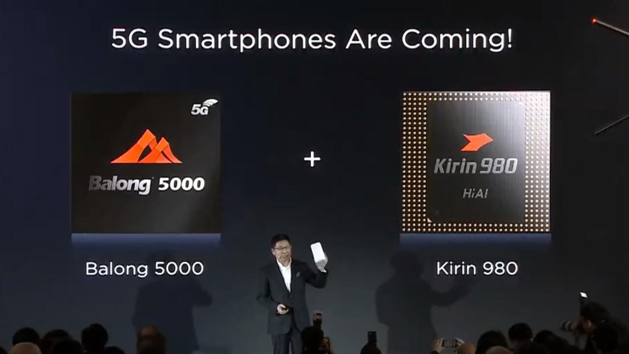 Huawei Balong 5000: Kleineres 5G-Modem ist für faltbares Smartphone gedacht