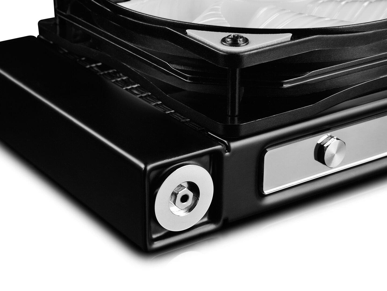 Deepcool Captain 240 Pro: Radiator mit Druckausgleichsventil