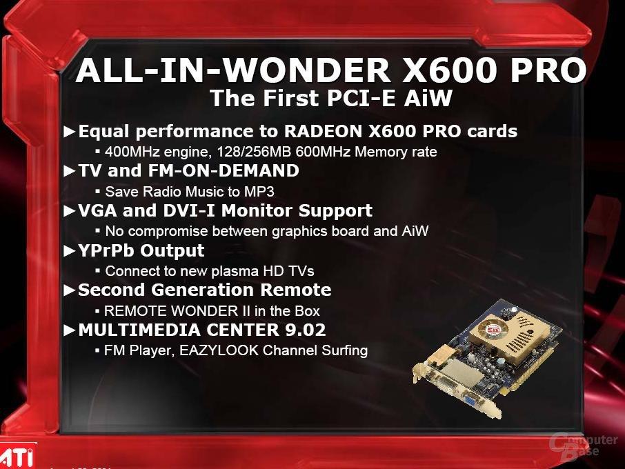 All-In-Wonder X600