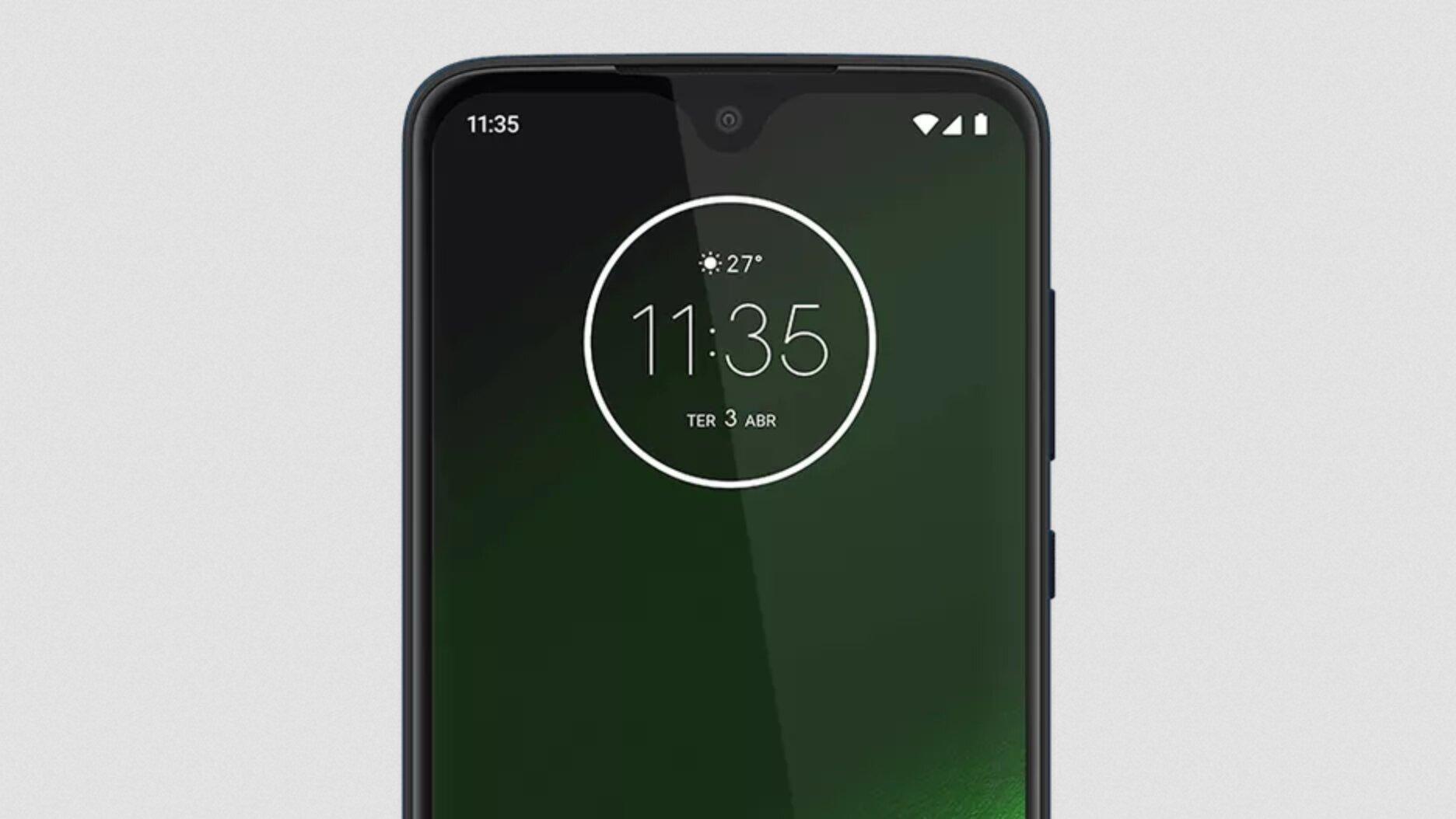 Motorola Moto G7 Front